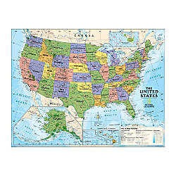 National Geographic Maps Political Series USA