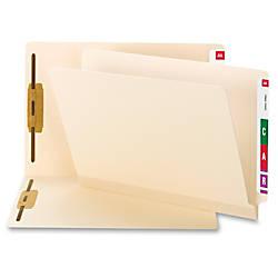 Smead TUFF Laminated End Tab Folder