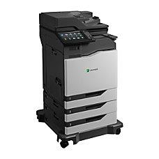 Lexmark CX825dtfe Laser Multifunction Printer Color