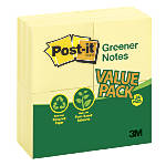 Post it Notes 100percent Recycled 3