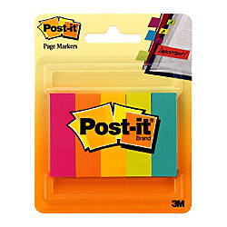 Post it Page Markers 12 x