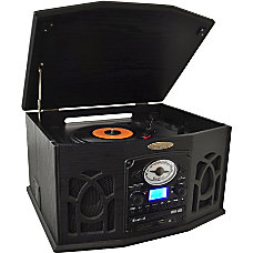 PyleHome PTCDS7UIB RecordCDCassette Turntable