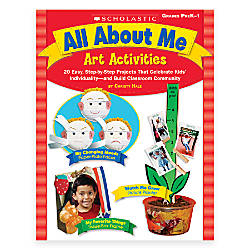 Scholastic All About Me Art Activities