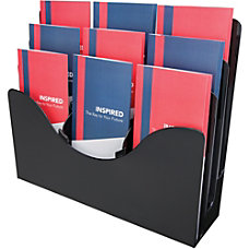 deflecto 3 tier Document Organizer 9