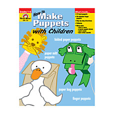 Evan Moor How To Make Puppets