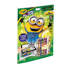 Crayola Color Alive Minions Virtual Coloring