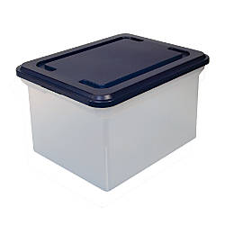 Brand Stackable File Tote Box