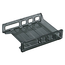 OIC Front Load Letter Tray Black
