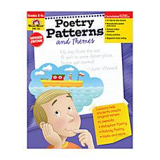 Evan Moor Poetry Patterns Grades 3