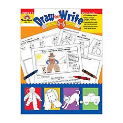 Evan Moor Draw Then Write Grades