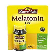 Nature Made Melatonin 5 mg Pack