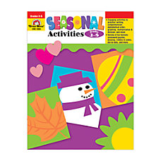 Evan Moor Seasonal Activities Grades 3