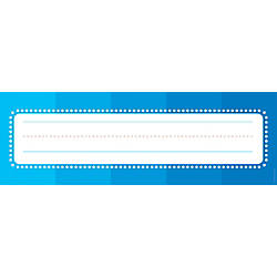 Color Your Classroom Name Plates 4