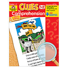 Evan Moor Clues To Comprehension Grades