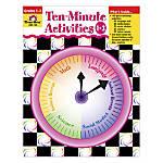 Evan Moor 10 Minute Activities Grades
