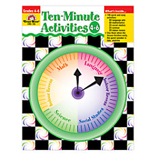 Evan Moor 10 Minute Activities Grades