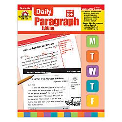 Evan Moor Daily Paragraph Editing Grade
