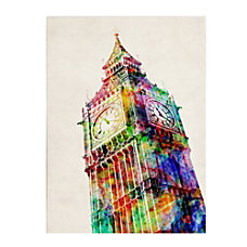 Trademark Fine Art Big Ben Canvas