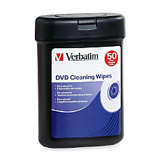 Verbatim DVD Cleaning Wipes
