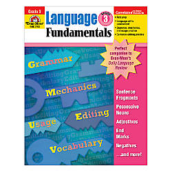 Evan Moor Language Fundamentals Grade 3