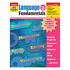 Evan Moor Language Fundamentals Grade 3
