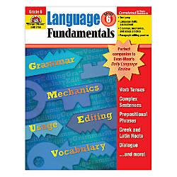 Evan Moor Language Fundamentals Grade 6