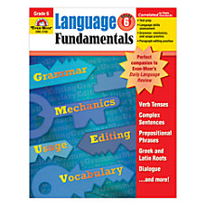 Evan Moor Language Fundamentals Grade 6