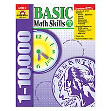 Evan Moor Basic Math Skills Grade
