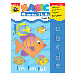 Evan Moor Basic Phonics Skills Level