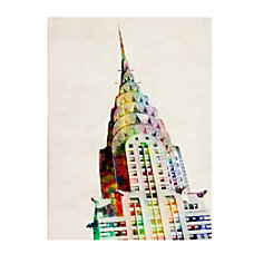 Trademark Fine Art Chrysler Building Canvas