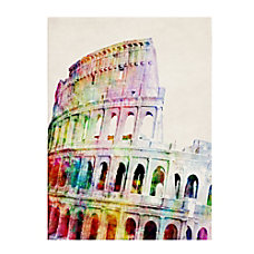 Trademark Fine Art Colosseum Canvas Art