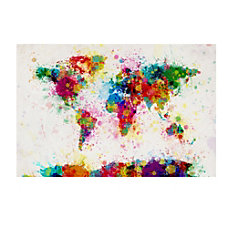 Trademark Fine Art Giclee Print On