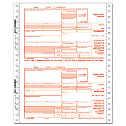 ComplyRight 1099 OID Continuous Tax Forms