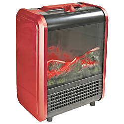 Comfort Zone CZFP1 Mini Electric Fireplace