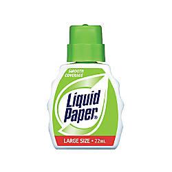 Liquid Paper Smooth Coverage Correction Fluid