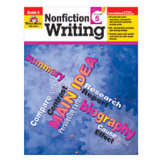 Evan Moor Non Fiction Writing Grade