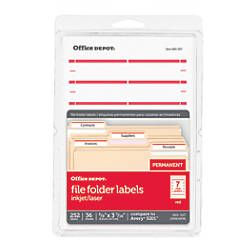 Office Depot Brand Print Or Write