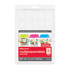 Office Depot Brand Removable Labels 58