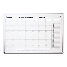 Monthly Planner Wall Board 24 x