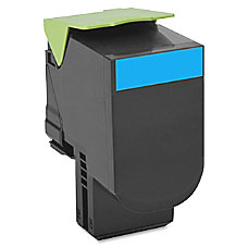 Lexmark 70C0H20 High Yield Cyan Toner