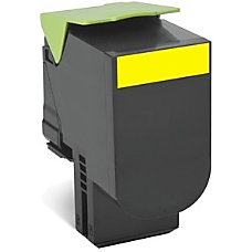 Lexmark 80C0S40 Yellow Toner Cartridge S8567805
