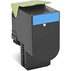 Lexmark 80C0S20 Cyan Toner Cartridge S8567803