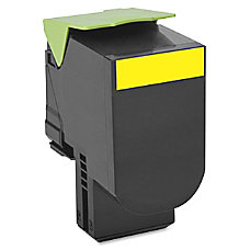 Lexmark 70C0H40 High Yield Yellow Toner