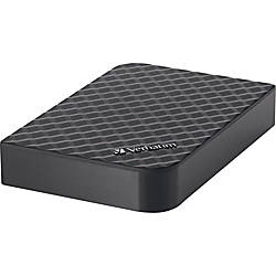 Verbatim® Store n' Save USB 3.0 Desktop Hard Drive, 2TB (2000GB)