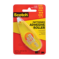 Scotch Adhesive Dot Roller Patterned Yellow