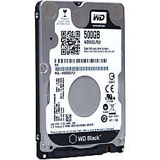 WD Black WD5000LPLX 500 GB 25