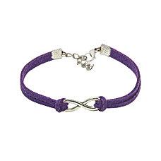 Infinity Bracelet Purple