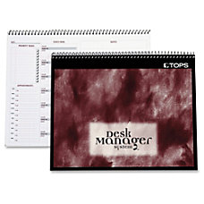 TOPS Desk Manager Multi tasking Notebook