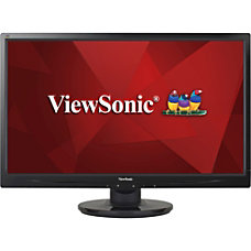 ViewSonic 24 Widescreen HD LED Monitor