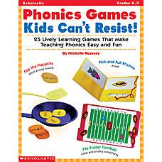 Scholastic Phonics Games